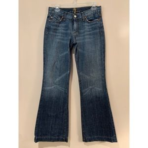 7 For All Mankind Jeans - 7 For All Mankind DOJO Wide Leg Flare Jeans